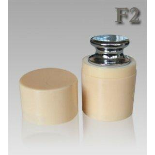500g F2 Edelstahl Kalibriergewicht Prüfgewicht inkl. Schutzhülse / Genauigkeitsklasse F2 G&G