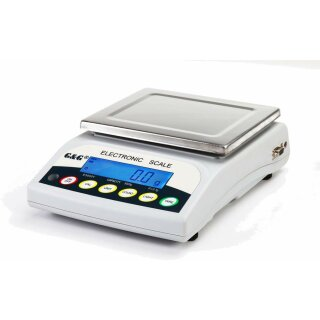 E-Y & E-KY Digital Scales, Models with readout steps starting at 0,001g with measuring range up to 30kg