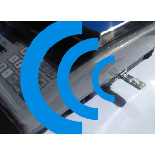Bluetooth-Adapter für Waagen mit RS232 Datenschnittstelle