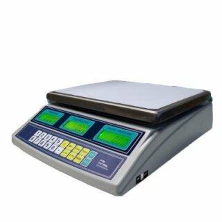 BPS-F 30kg/1g Digitalwaage mit Preisberechnung. Nicht eichfähig