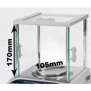 Ø105mm mit Glas-Windschutz