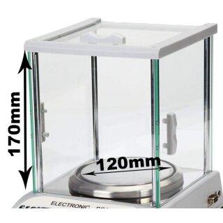 Ø120mm mit Glas-Windschutz