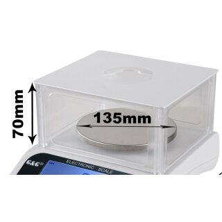 Ø 135mm, Kunststoff-Windschutz